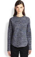 Proenza Schouler Speckled Wool Blend Sweater - Lyst