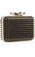 Christian Louboutin Fiocco Box Cabo Clutch - Lyst