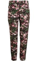 Givenchy Floral Printed Cotton Trousers - Lyst