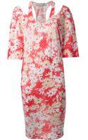 Stella McCartney Floral Print Dress - Lyst