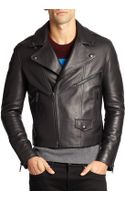 Burberry Brit Hyde Leather Jacket - Lyst