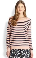 Weekend By Maxmara Pacos Striped Sweater - Lyst