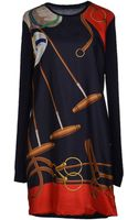 Ralph Lauren Short Dress - Lyst