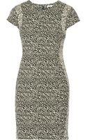 Diane Von Furstenberg Pele Jacquard Mini Dress - Lyst