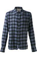 Rag & Bone Placked Plaid Shirt - Lyst