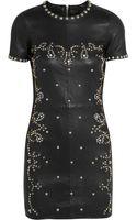 Isabel Marant Dreamy Studded Stretch-leather Mini Dress - Lyst
