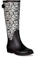 DKNY Field Rubber Rain Boot - Lyst