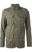 Belstaff Military Jacket - Lyst