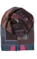 Etro Paisley Scarf - Lyst