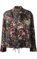 Valentino Floral Bomber Jacket - Lyst