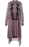 Antonio Marras Lace Asymmetric Dress - Lyst