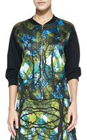 Risto Greenwoods Solidsleeve Printed Sweatshirt - Lyst