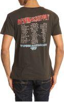 Denim & Supply Ralph Lauren Tour America Faded Black Tshirt - Lyst