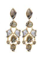 Alexis Bittar Multistone Labradorite Clip Earrings - Lyst