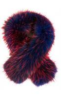 Matthew Williamson Racoon Fur Scarf - Lyst