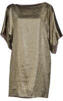 Vionnet Short Dress - Lyst
