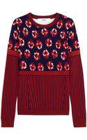Prabal Gurung Jacquard Knit Wool Sweater - Lyst