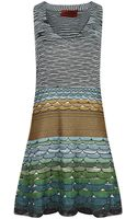 Missoni Scallop Fit and Flare Dress - Lyst