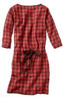 Gap Printed Boatneck Dress - Lyst
