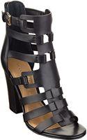 Ivanka Trump Elston Highheel Leather Sandals - Lyst