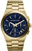 Michael Kors Mens Chronograph Channing Goldtone Stainless Steel Bracelet Watch 43mm - Lyst