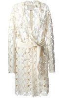 Lanvin Floral Lace Coat - Lyst
