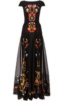 Temperley London Long Toledo Dress - Lyst