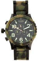 Nixon 51 - 30 Chrono Matte Watch - Lyst
