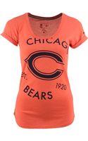 Nike Womens Short-sleeve Chicago Bears Crested T-shirt - Lyst