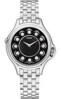 Fendi Timepieces Crazy Carats Diamond Multicolor Topaz  Stainless Steel Small Bracelet Watchblack - Lyst