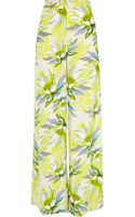 River Island  Floral Print Palazzo Trousers - Lyst