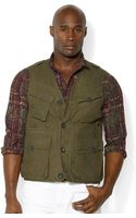 Polo Ralph Lauren Polo Big and Tall 4pocket Highland Vest - Lyst