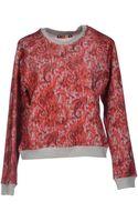 MSGM Sweatshirt - Lyst