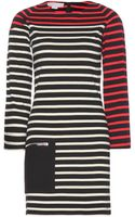Stella McCartney Striped Cotton Dress - Lyst