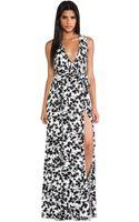 Rachel Pally Crawford Wrap Maxi Dress - Lyst