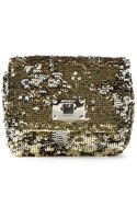 Jimmy Choo Ruby Sequined Cross Body Bag - Lyst
