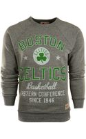 Sportiqe Mens Boston Celtics Crew Sweatshirt - Lyst