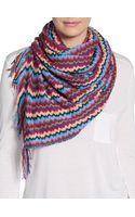 Missoni Multicolor Zigzag Scarf - Lyst