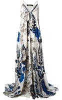 Roberto Cavalli Dress - Lyst