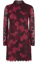 Valentino Macrame Flower Dress - Lyst