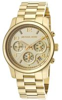 Michael Kors Womens Chronograph Gold Tone Stainless Steel - Lyst