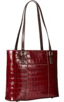Dooney & Bourke Croco Small Lexington Shopper - Lyst