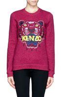 Kenzo Tiger Embroidery Sweatshirt - Lyst