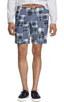 Brooks Brothers Patchwork Shorts - Lyst