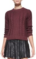 Joie Greer Mixed Knit Sweater - Lyst