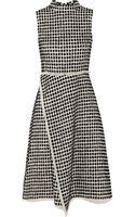 Proenza Schouler Flocked Tweed Dress - Lyst
