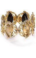 Alexis Bittar Lucite Crystal Lace Hinge Bracelet - Lyst