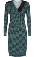 Nicole Farhi Spray Tweed Print Dress - Lyst