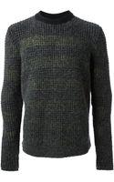 Kenzo Chunky Knit Sweater - Lyst