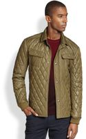 Vince Quilted Cpo Jacket - Lyst
